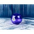 Ваза  Энжой шар d-79мм фиолетовый цвет 43407 SL  *12