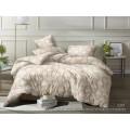 Комплект постельного белья  1,5спальный полисатин  5D дизайн 2301