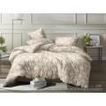 Комплект постельного белья  2,0спальный полисатин с европростыней  5D 2301