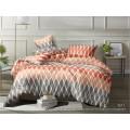 Комплект постельного белья  1,5спальный полисатин  5D дизайн 3511