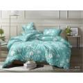 Комплект постельного белья  1,5спальный полисатин  5D дизайн 4175