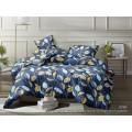 Комплект постельного белья  2,0спальный полисатин с европростыней  5D 6069