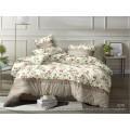Комплект постельного белья  2,0спальный полисатин с европростыней  5D 6276