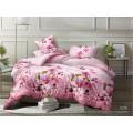 Комплект постельного белья  1,5спальный полисатин  5D дизайн 6285