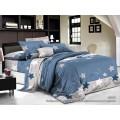 Комплект постельного белья  2,0спальный полисатин с европростыней  5D 4424