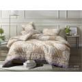 Комплект постельного белья  2,0спальный полисатин с европростыней  5D 4118