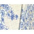 Клеенка Grace Лейс ажурная 1,32х22м DM-10110А 60410 голубые цветы