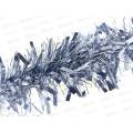 """Мишура &quotПушистая"""" 1,8м, d 15см, цвет:серебро, MY-08-15Y    АТМ"""